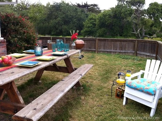 Creating an Outdoor Oasis in my Garden and Pier 1 GC Giveaway