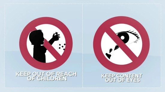 Keep out of reach of children