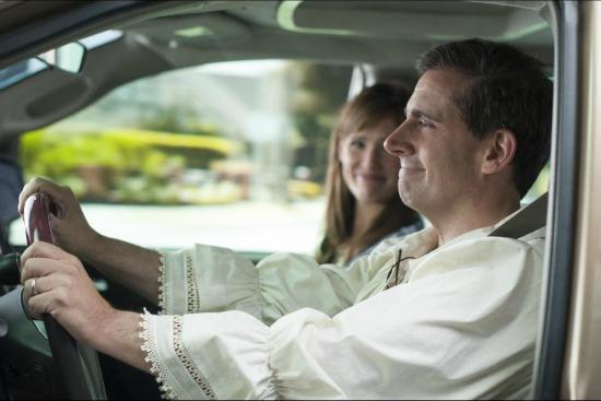 Steve Carell and Jennifer Garner