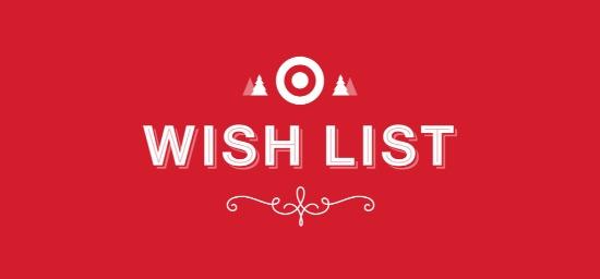 Target wish list app