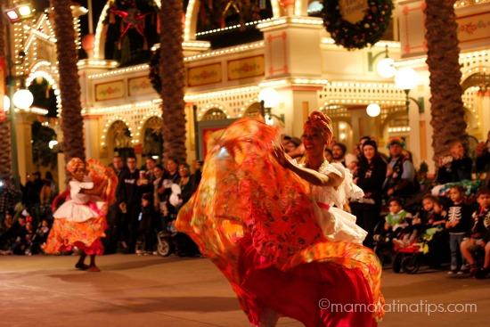 bailarina de Samba de Disney, ¡Viva Navidad!