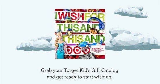 Target holiday catalog