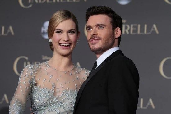 Lily-James-Richard Madden