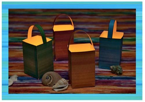 Paper lanterns - teen beach inspired party - mamalatinatips.com