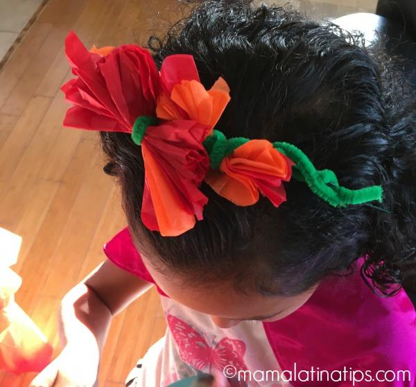Flores de papel - mamalatinatips.com