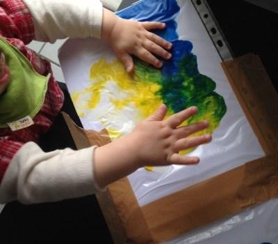 Peinture sous plastique blog pro allaitement maternel et - Peinture pour table plastique ...