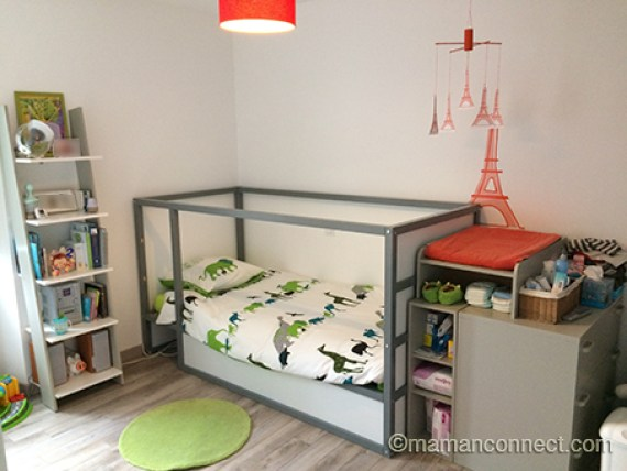 quand passer b b dans un lit de grand maman connect. Black Bedroom Furniture Sets. Home Design Ideas