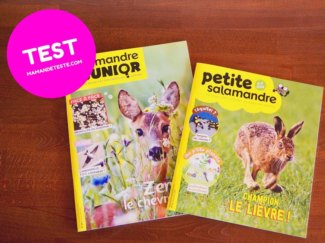 avis magazine jeunesse la salamandre maman deteste blog suisse