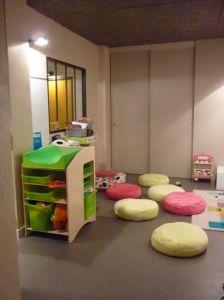 Salle des enfants (crédit photo : Happy Families)