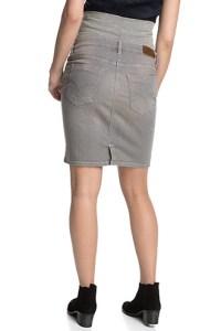 Jupe de grossesse en jeans (avec bandeau)