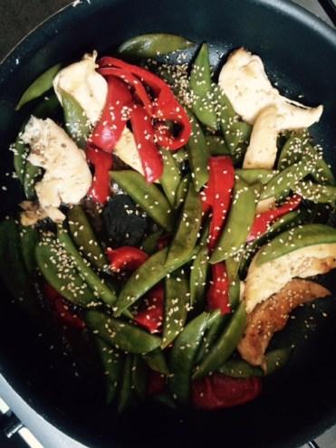 wok légumes poulet Czon