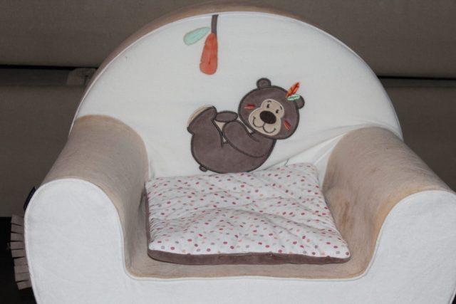 fauteuil enfant Candide