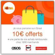 Découvrez Igraal et gagnez 40 euros de chèque cadeau Kadéos !