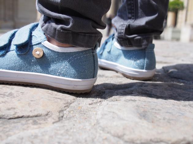 chaussures Faguo Kids Oak denim scratch