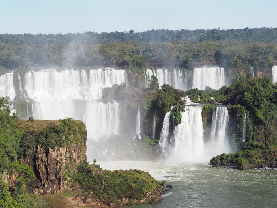 Notre arrivée au Brésil : les chutes d'Iguaçu et le parc des oiseaux