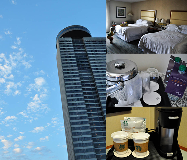 Review of Sheraton hotel at Crown Center in Kansas City