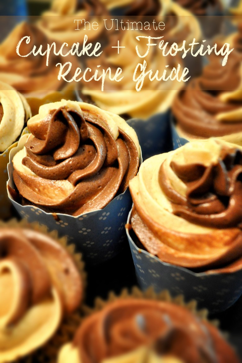Looking for the ultimate cupcake and frosting recipes? You'll love these-- they're the BEST ever!