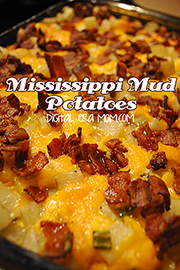 These mississippi mud potatoes are delicious and easy-- only 5 ingredients and gluten free!