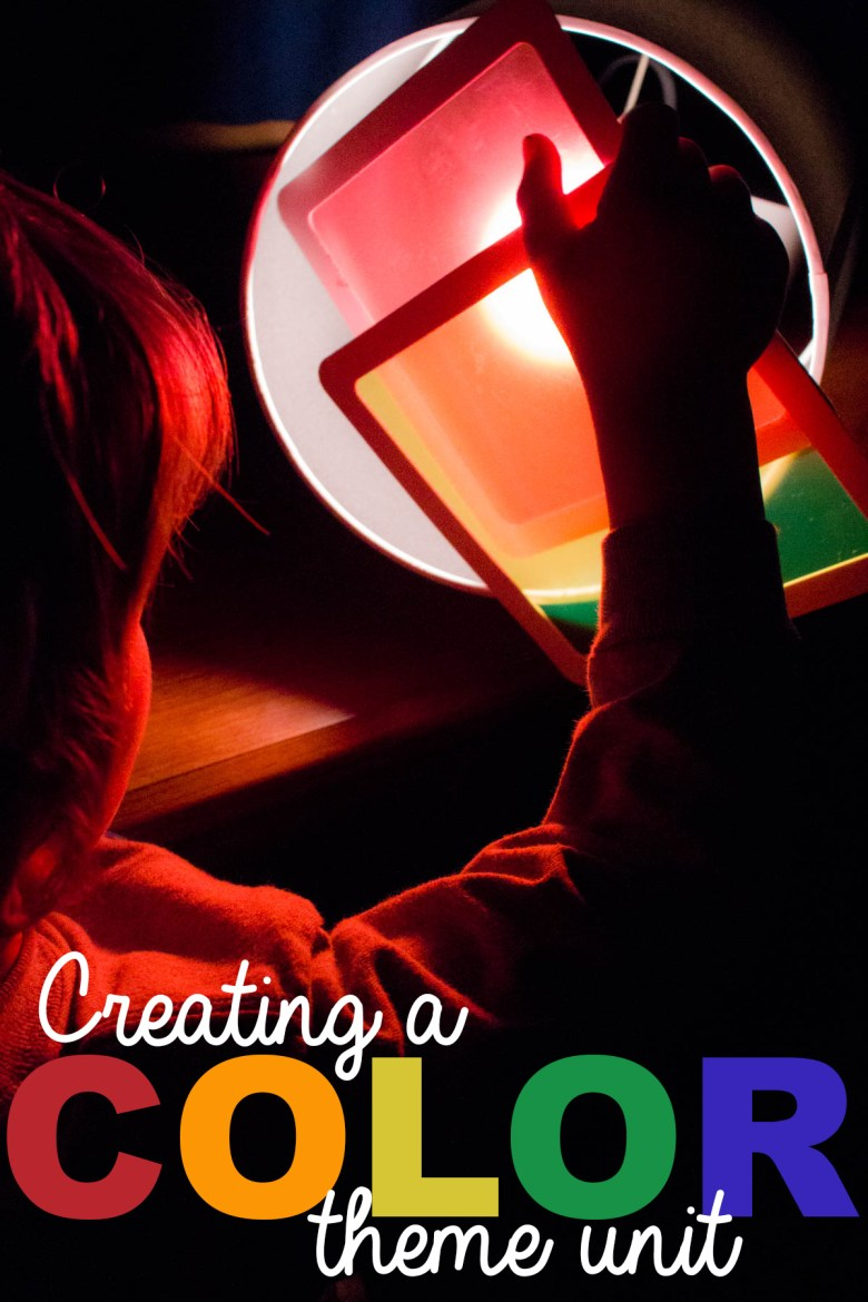 Colors are the perfect theme for a preschool theme unit! This color unit is a great idea for teaching kids the basics of colors, color mixing, and more. Whether you homeschool, need daycare activities, or are a preschool center, you'll love the ideas in this unit that use COLORS!