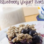 Dairy-Free Blueberry Yogurt Bars (Yes, Really!)
