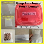 How to Keep Lunch Meat Fresh Longer