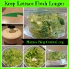 Keep lettuce fresh longer