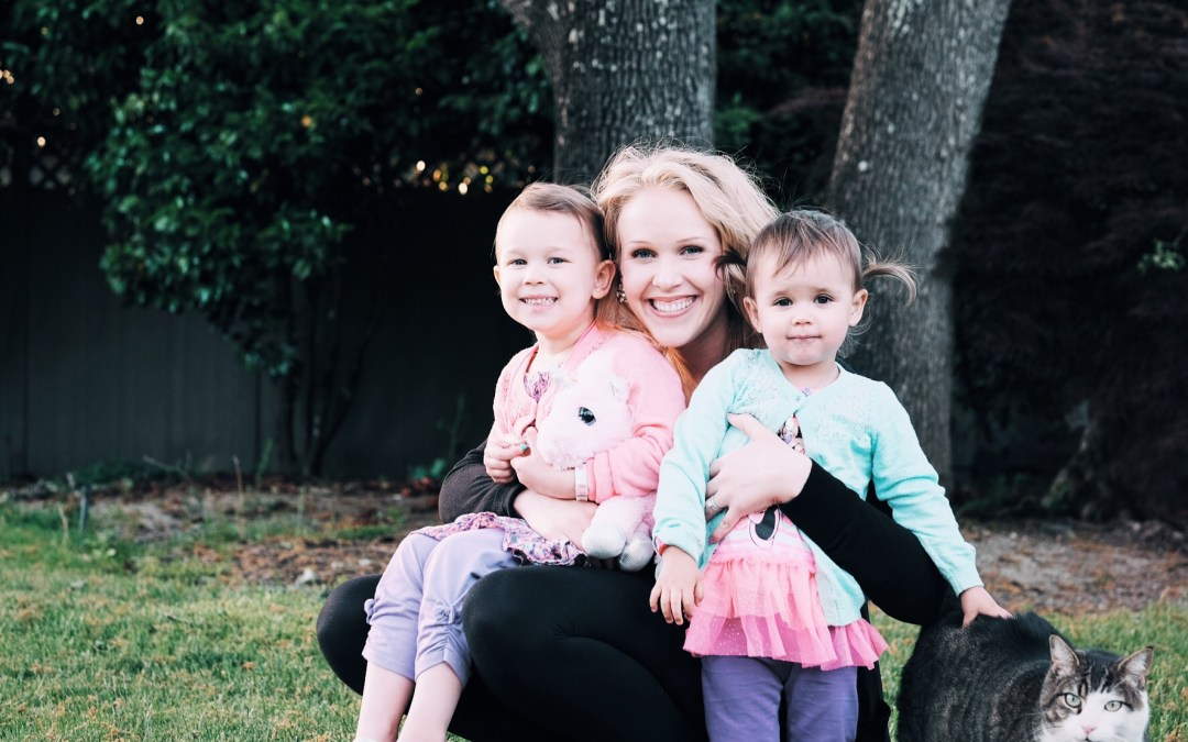 Two minutes with …  Erin Brooks, mama to Sloane, aged 4 years and Adrienne, aged 2 years