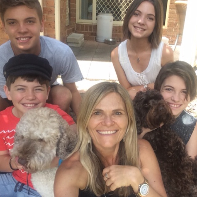 Two minutes with … Naomi Sirio, mama to Dominic, aged 17 years, Eliza, aged 15 years, Maia, aged 13 years and Andre, aged 10 years