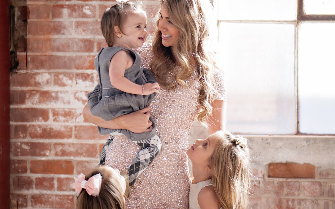 Two minutes with … Lisa Williams, mama to Aubrey, aged 6 years, Kate aged 4 years, and Ella, aged 1.5 years