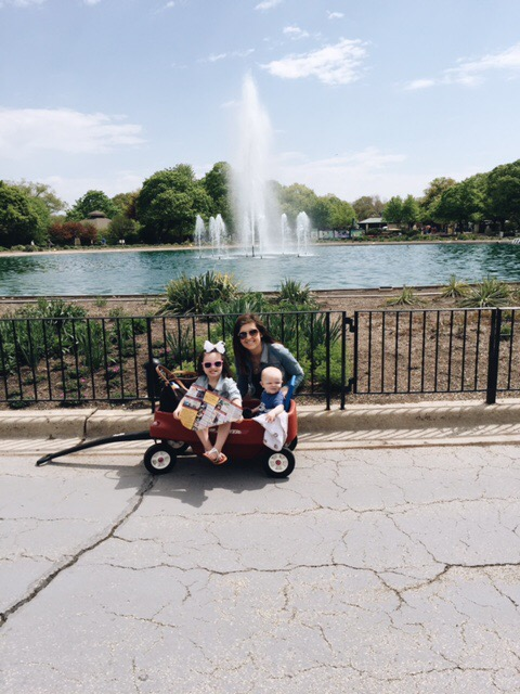 Two minutes with … Angie Nagle, mama to Giuliana, aged almost 4 years and Colton, aged 10 months