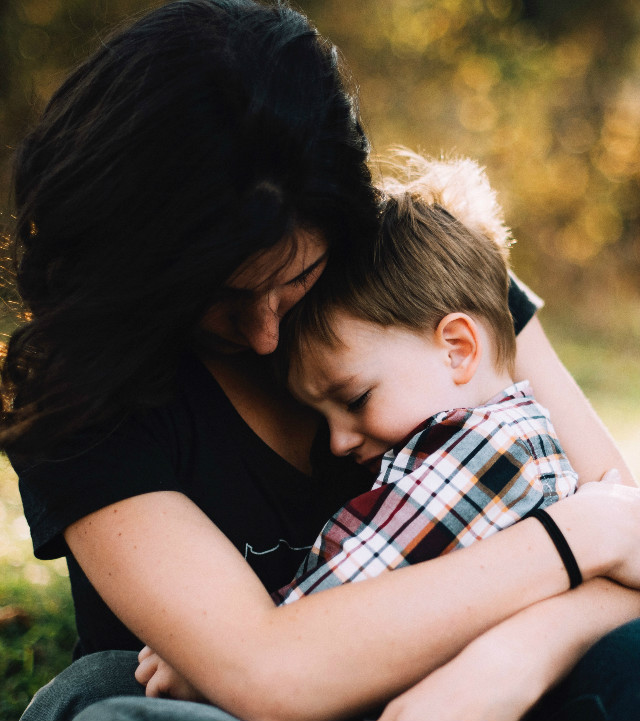 Apologize and make amends with your child