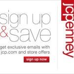 JCPenney: recibe cupones y ofertas por e-mail