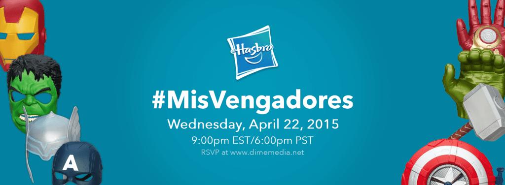 Hasbro #AvengersUnidos Twitter Party Invite 4.20