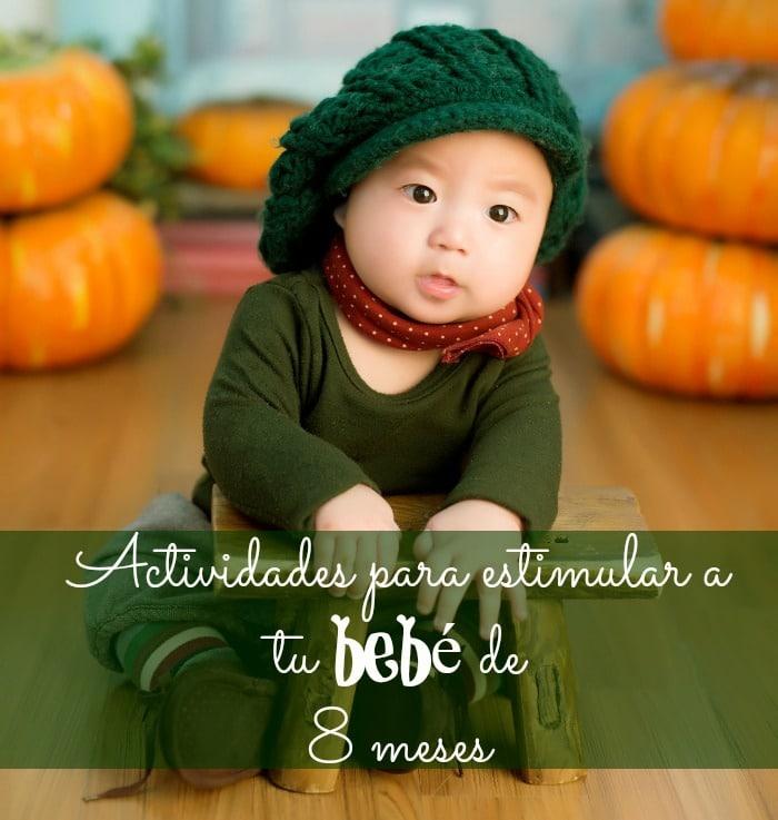 Actividades para estimular a tu bebé de 8 meses