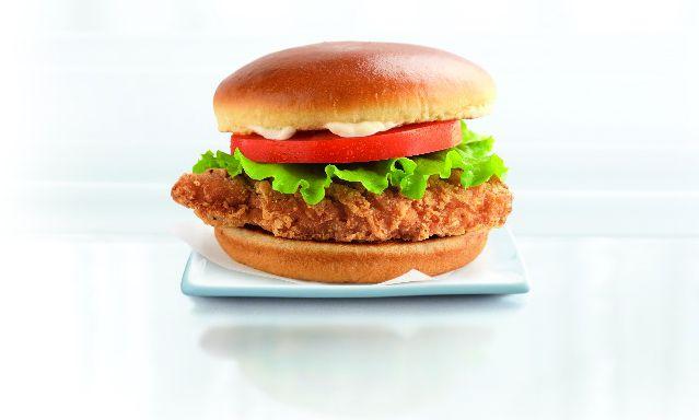 McDonald's ButterMilk Crispy Sandwich