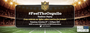 ¡Acompáñanos a la Twitter Party #FeelTheOrgullo!
