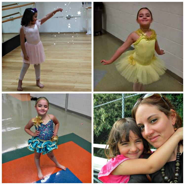 Collage de Sarah ballet
