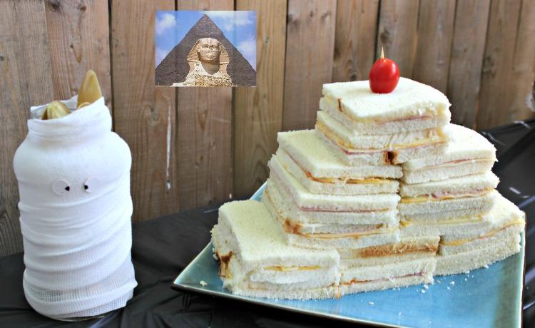 jamón y queso, sandwiches, cumpleaños, egipto