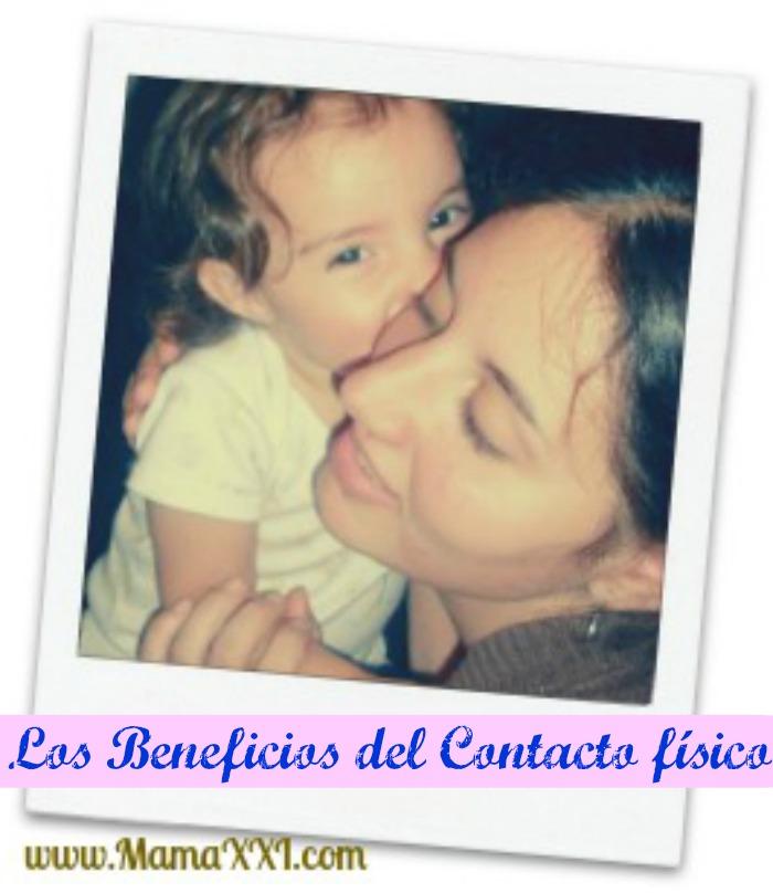 bebé, hijos, contacto, masajes
