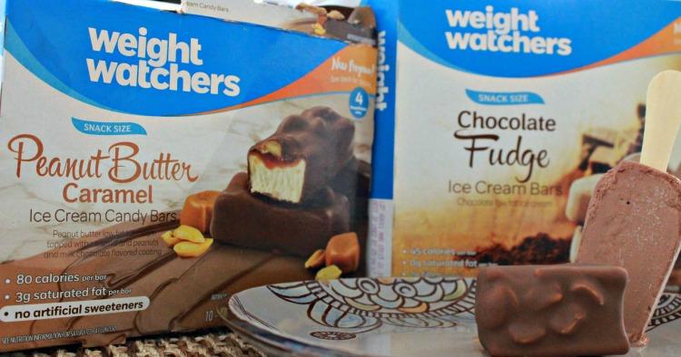 snacks helados de weight watchers