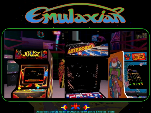 Arcade Emulaxian Frontend 0 96 Manual Reference