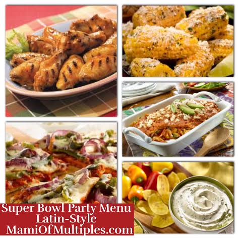 Super Bowl Party Menu Latin-Style