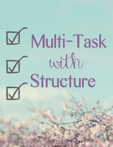 multi task with structure pic