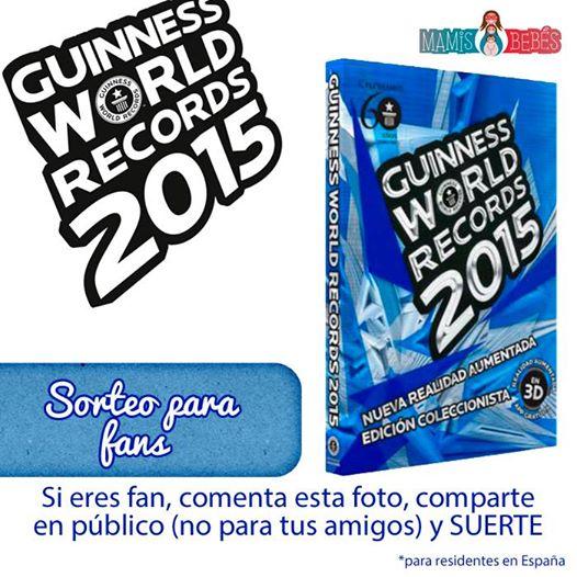 #sorteo en facebook ¡Un libro Guinness de los Récords!