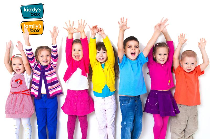Kiddy's box:  Regala experiencias, también para niños
