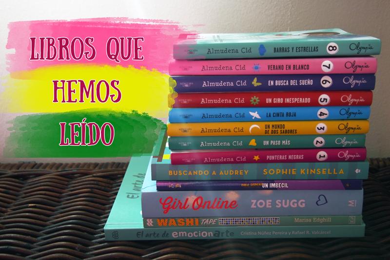 Libros que hemos leído (junio 2016)