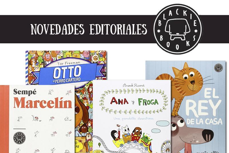 Novedades editoriales de Blackie Books para niños