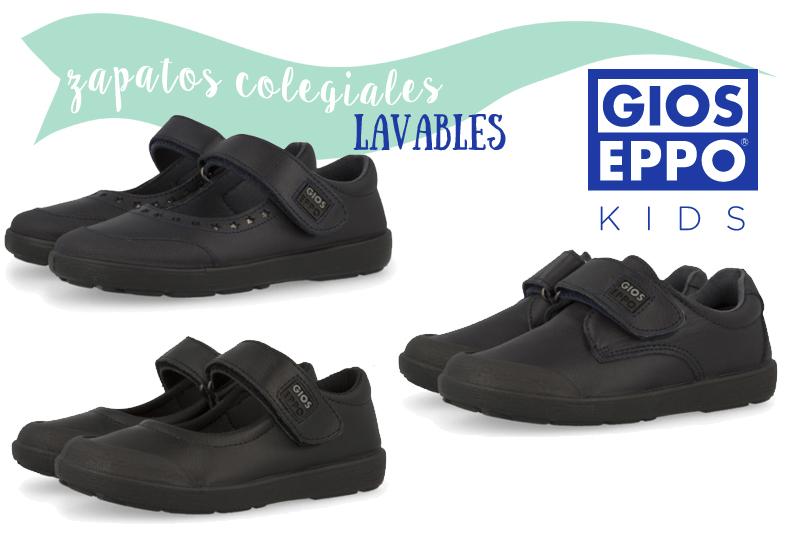 Los zapatos colegiales lavables de Gioseppo