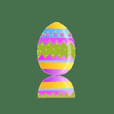 Biglietto per Pasqua da colorare in pasqua festivita
