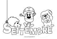 Disegno da colorare sul mese settembre  Mamma e Bambini